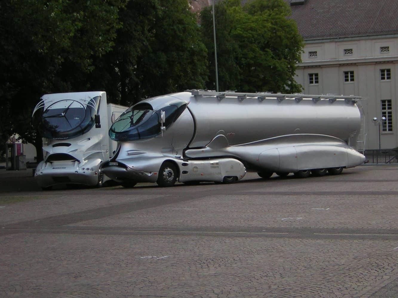 Luigi Colani și viziunile sale de design pentru camion