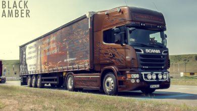 Gigi Vlase este al treilea proprietar Scania Black Amber din lume