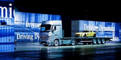 Mercedes Benz Actros si Mercedes Benz SLS