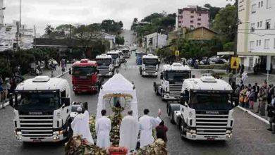 Binecuvantare Camioanelor Scania la Sao Marcos, Brazil
