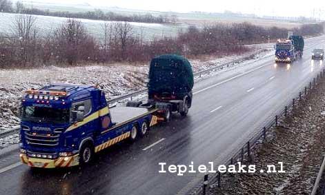 Poze spion cu noua Scania serie R 2014