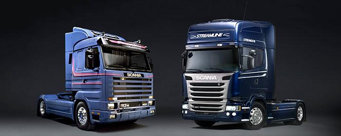 Scania Streamline 1991 vs. Scania Streamline 2013