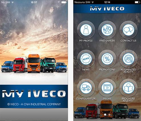 MY IVECO - noua aplicatie Iveco pentru manageri si soferi