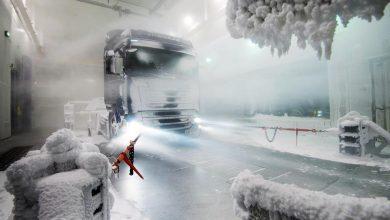 Remarcabilul tunel de vânt generator de condiții atmosferice a lui Scania