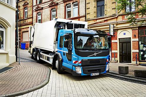 Premieră: Noul Volvo FE cu acces coborât