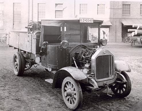MAN D1580 B - primul camion experimental cu motor diesel și injecție directă