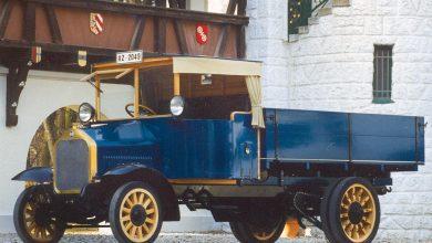 MAN a produs primul camion cu motor diesel cu injectie directă din lume