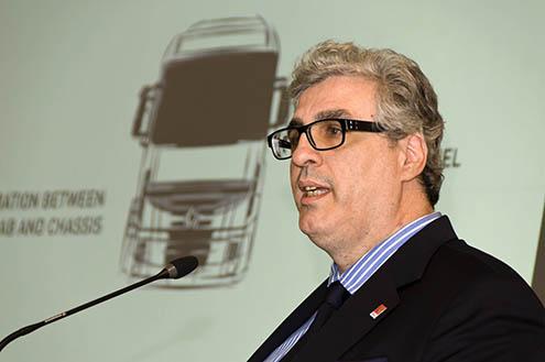 Herve Bertrand, Designer Șef al Renault Trucks