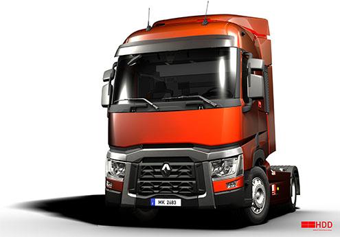 Schita Renault Trucks T