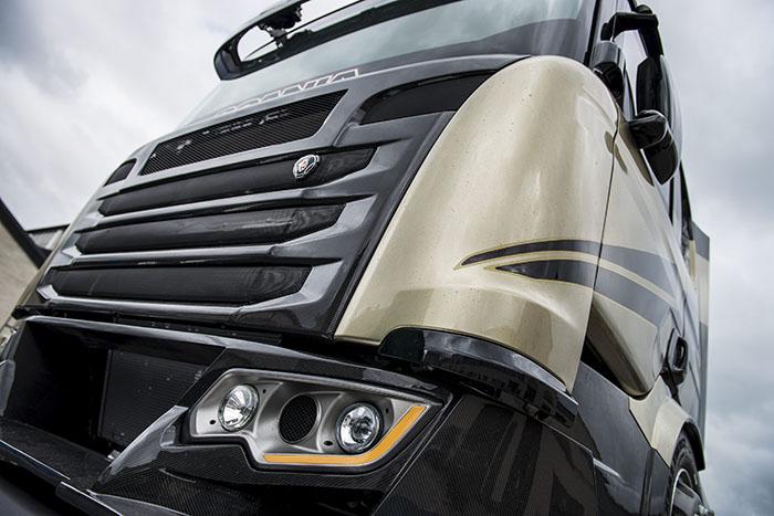 Scania Chimera, concept truck-ul Svempa de 2190 CP