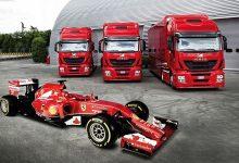 Iveco Stralis Hi-Way pentru Scuderia Ferrari