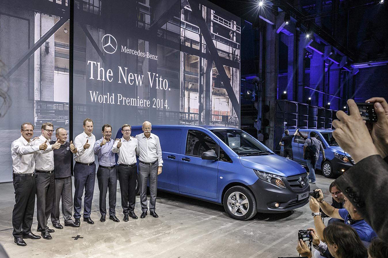 Lansarea oficiala a noului Mercedes-Benz Vito 2014