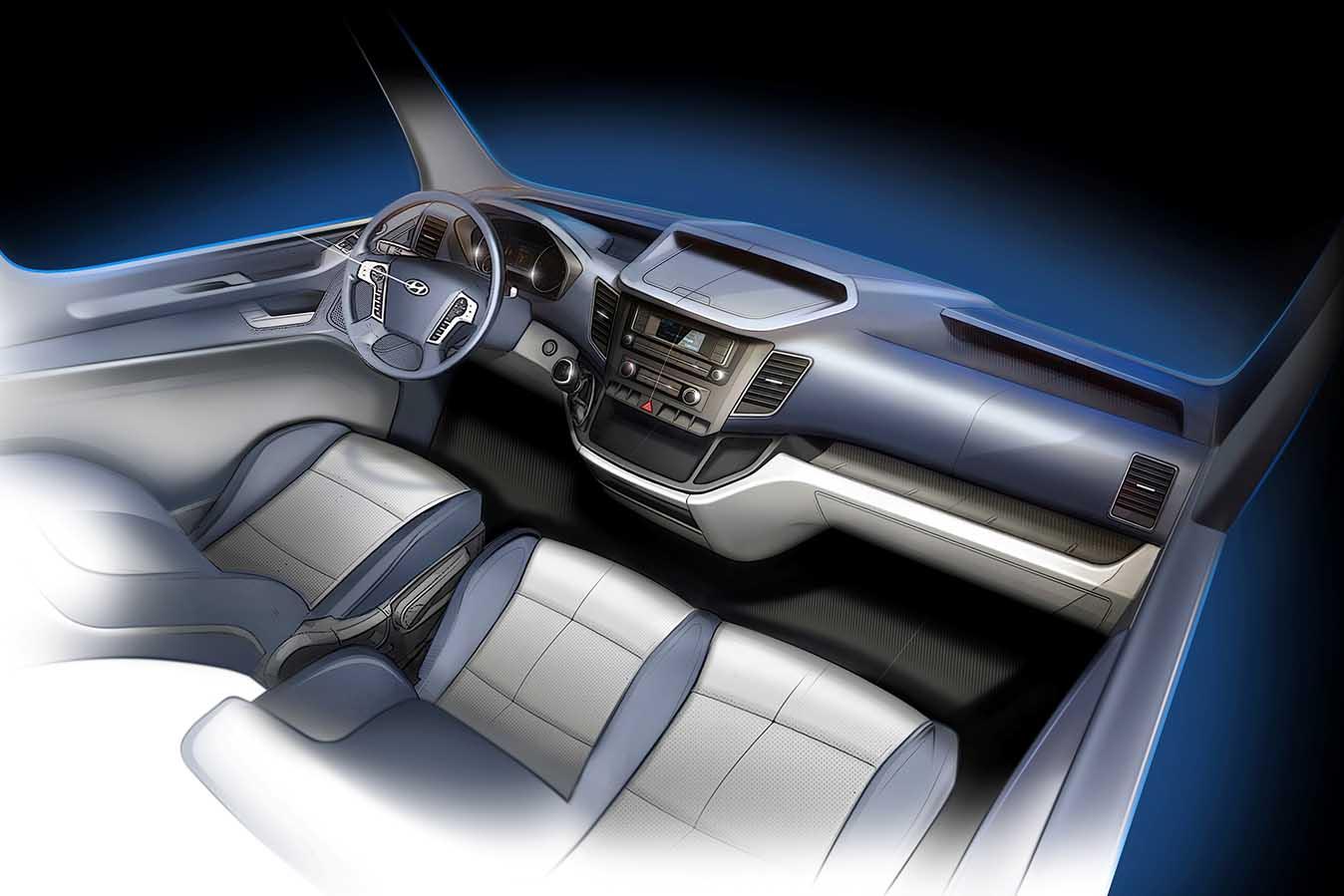 Hyundai a făcut publice primele schițe ale noului model H350