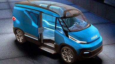 "IVECO Vision: Concept van-ul bazat pe șasiul ""Dual Energy"""