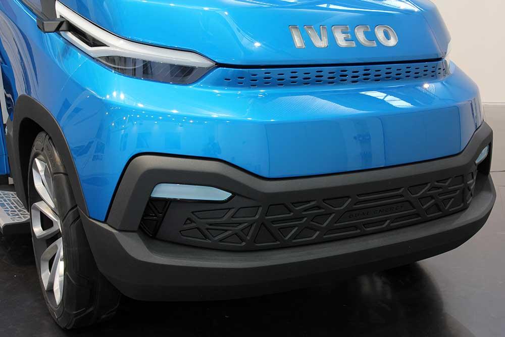 IVECO Vision: Concept van-ul bazat pe șasiul Dual Energy