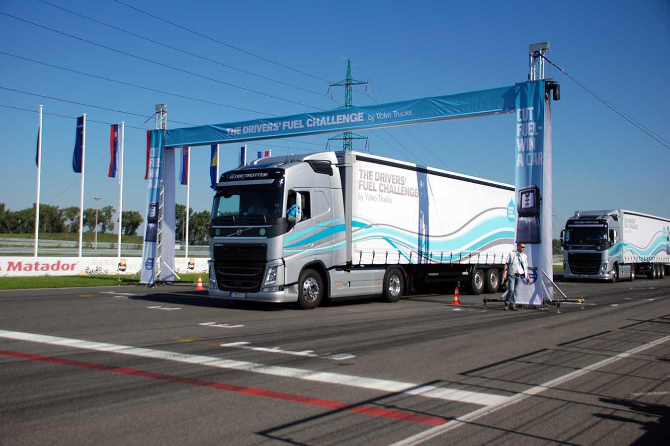 The Drivers' Fuel Challenge organizată de Volvo Trucks și-a desemnat finalistul din CEE