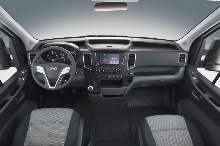 Interior cabina Hyundai H350