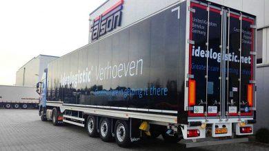 Talson a livrat 10 semiremorci de transport la Verhoeven Logistica