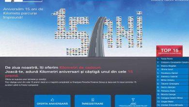 Ofertă specială de finanțare și numeroase premii la aniversarea a 15 ani de Porsche Finance Group în România