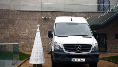Mercedes-Benz Sprinter suport logistic al Festivalul Brazilor de Crăciun