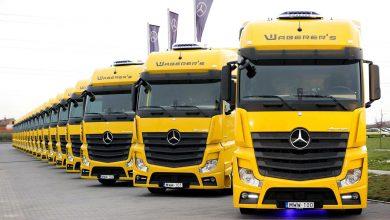 Waberer's a achiziționat 120 de Mercedes-Benz Actros Euro 6