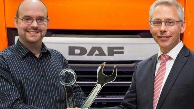 Mike Christensen este cel mai bun tehnician de service DAF din Europa