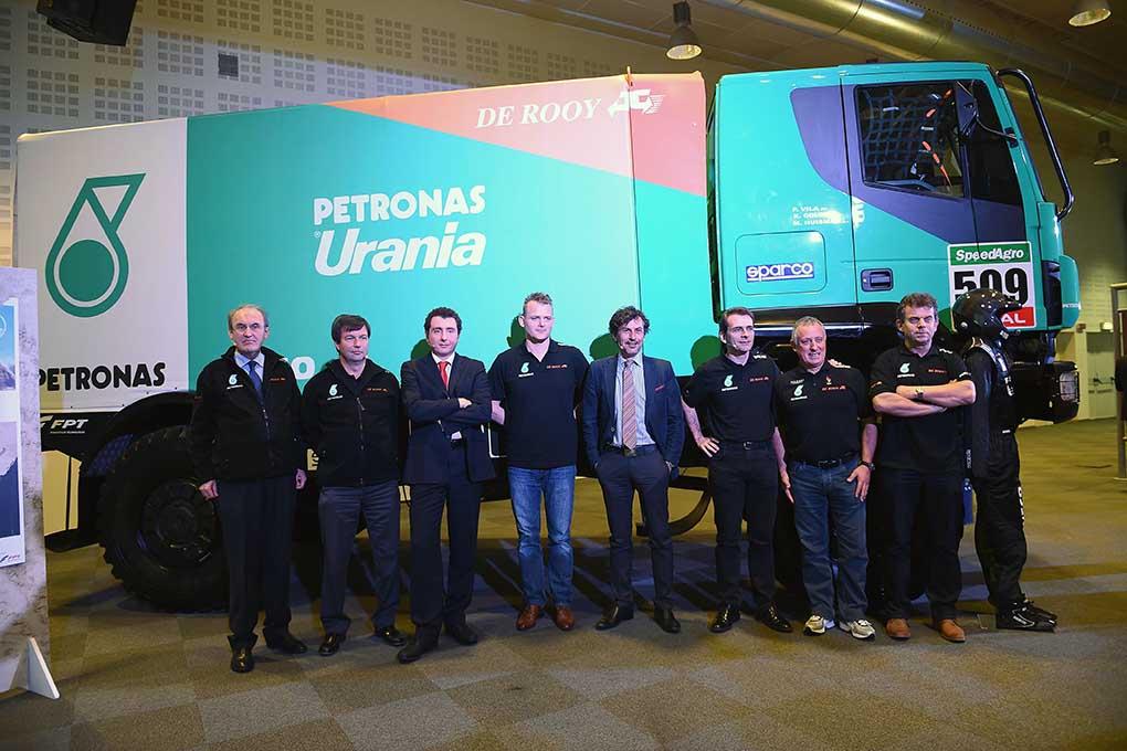 Petronas De Rooy Iveco - Echipa Dakar 2015