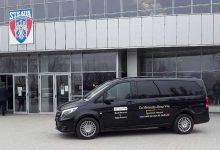Noul MB Vito suport logistic pentru echipa de polo a Stelei