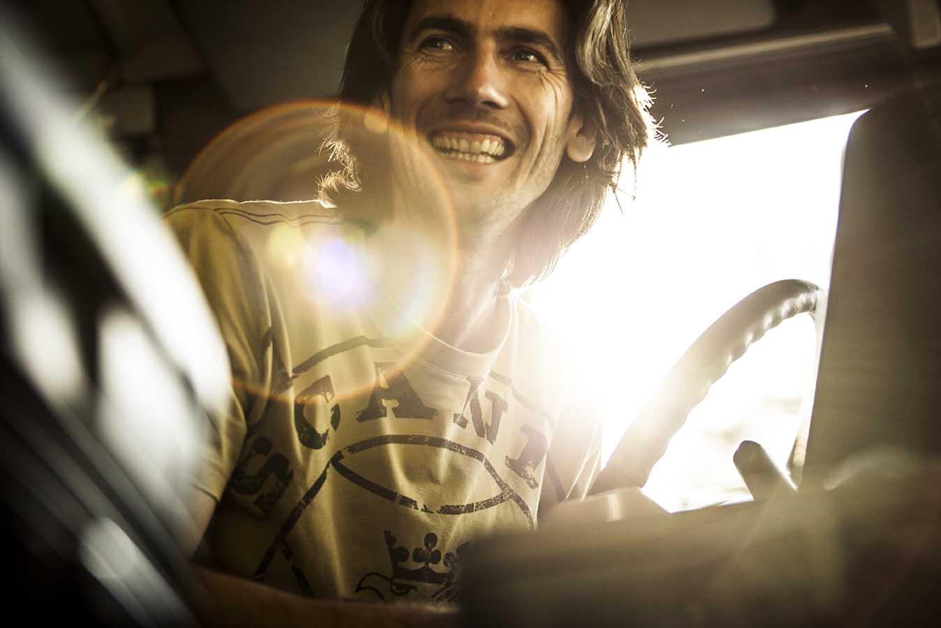 Michele Sandri - primul castigator Scania YETD