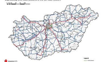 Majorări a taxelor de drum din Ungaria