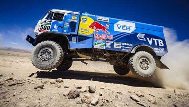 Dakar2015: Liebherr a propulsat Kamaz Master Team spre titlul din 2015