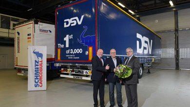 Schmitz Cargobull a livrat primele semiremorci din cele 3.000 danezilor de la DSV