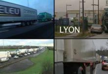 [VIDEO] Soferii profesionisti continua protestul in Franta