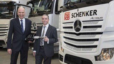 DB Schenker opereaza flota de camioane a echipei Mercedes AMG Petronas F1