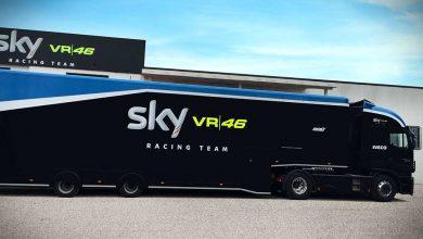 Iveco confirmă rolul de furnizor oficial al echipei Sky Racing Team VR46