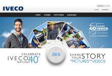 În 2015, IVECO sărbătorește 40 de ani de existență și performanță