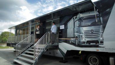 Mercedes-Benz a început Euro VI Trucks Roadshow 2015