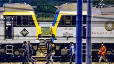 terminalul feroviar de la Calais
