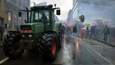 Fermierii francezi au blocat camioanele inmatriculate in Germania si Spania