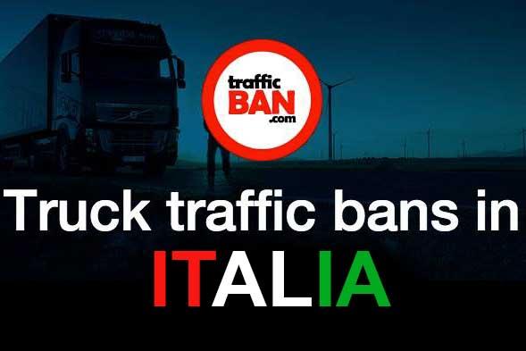 Restrictii de trafic in Italia