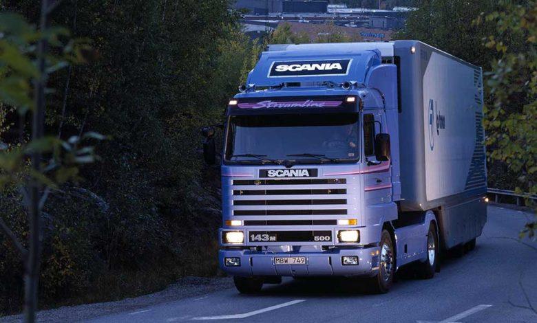 Scania Seria 3 este cel mai bun camion din UK