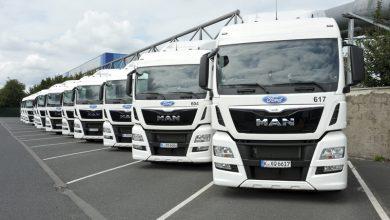 Ford Europa a achiziționat 58 de camioane MAN TGX