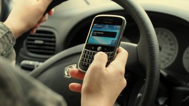 telefonul la volan