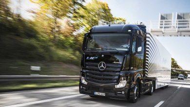 Mercedes-Benz Actros este primul camion de serie autonom testat în trafic real