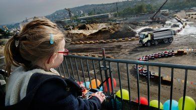 Volvo FMX testat extrem de o fetiță