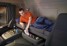Efectuezi pauza săptămânală normală în cabină? Poți să primești până la 1.500 euro amendă (Franța)