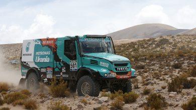 De Rooy și Iveco victorioși în a patra etapă de Dakar Rally