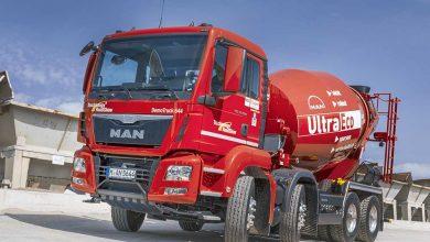 MAN TGS 32.400 cu șasiu optimizat pentru mai mult beton transportat
