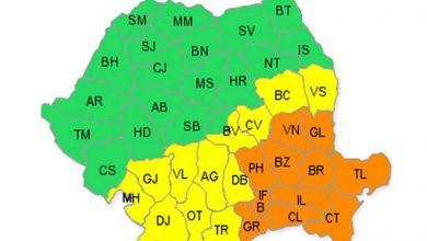 ANM: Avertizare de cod galben și cod portocaliu de ninsori