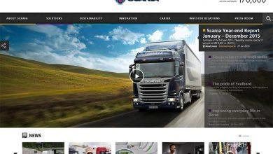 Trecutul, prezentul și viitorul sau reunit pe noul website Scania